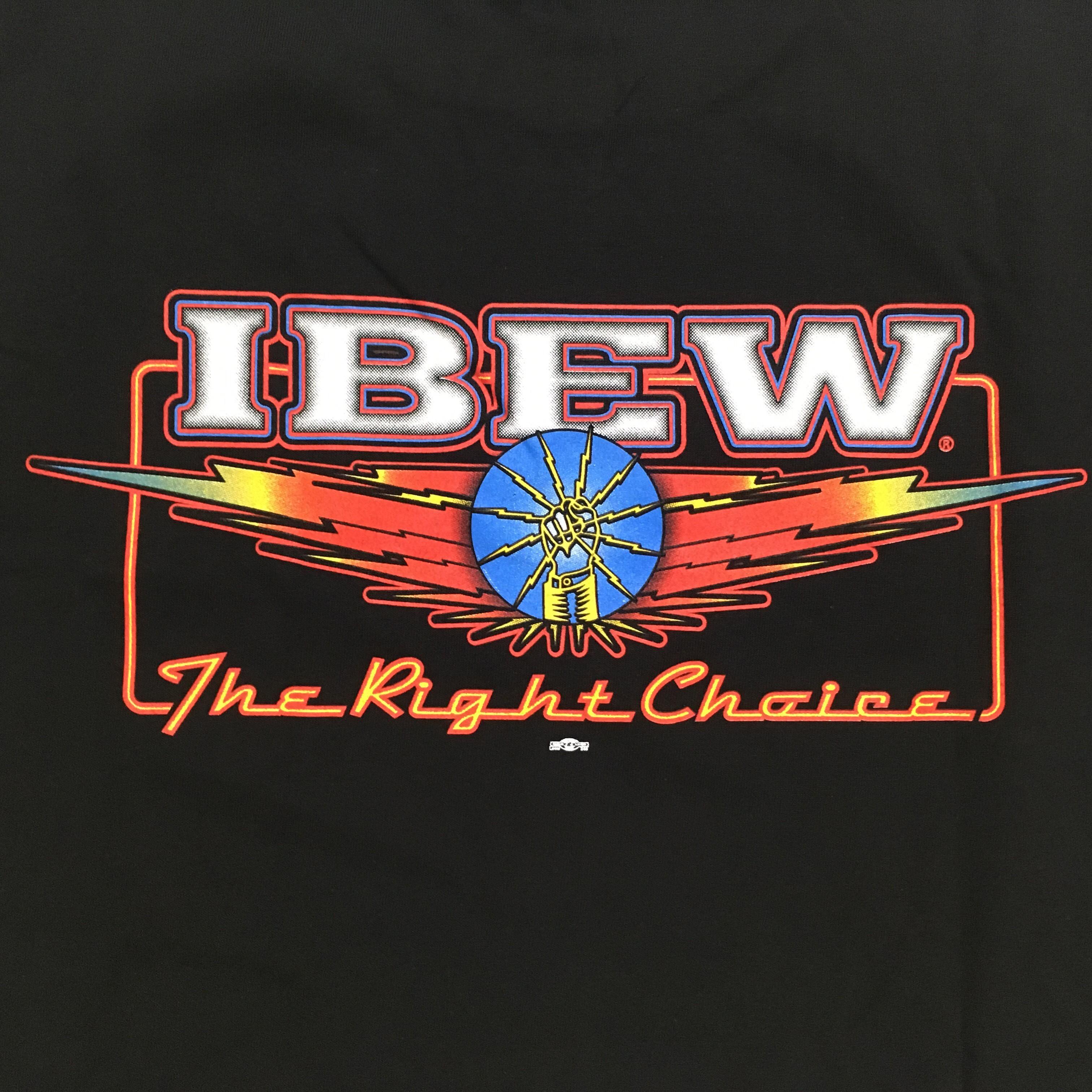 748ac9ef0 Beige Dress Shirt. Grey IBEW Logo T-Shirt. Strong & Free Tee